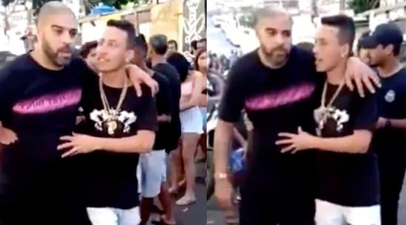 Adriano ubriaco in giro per Rio de Janeiro. Il web si scatena