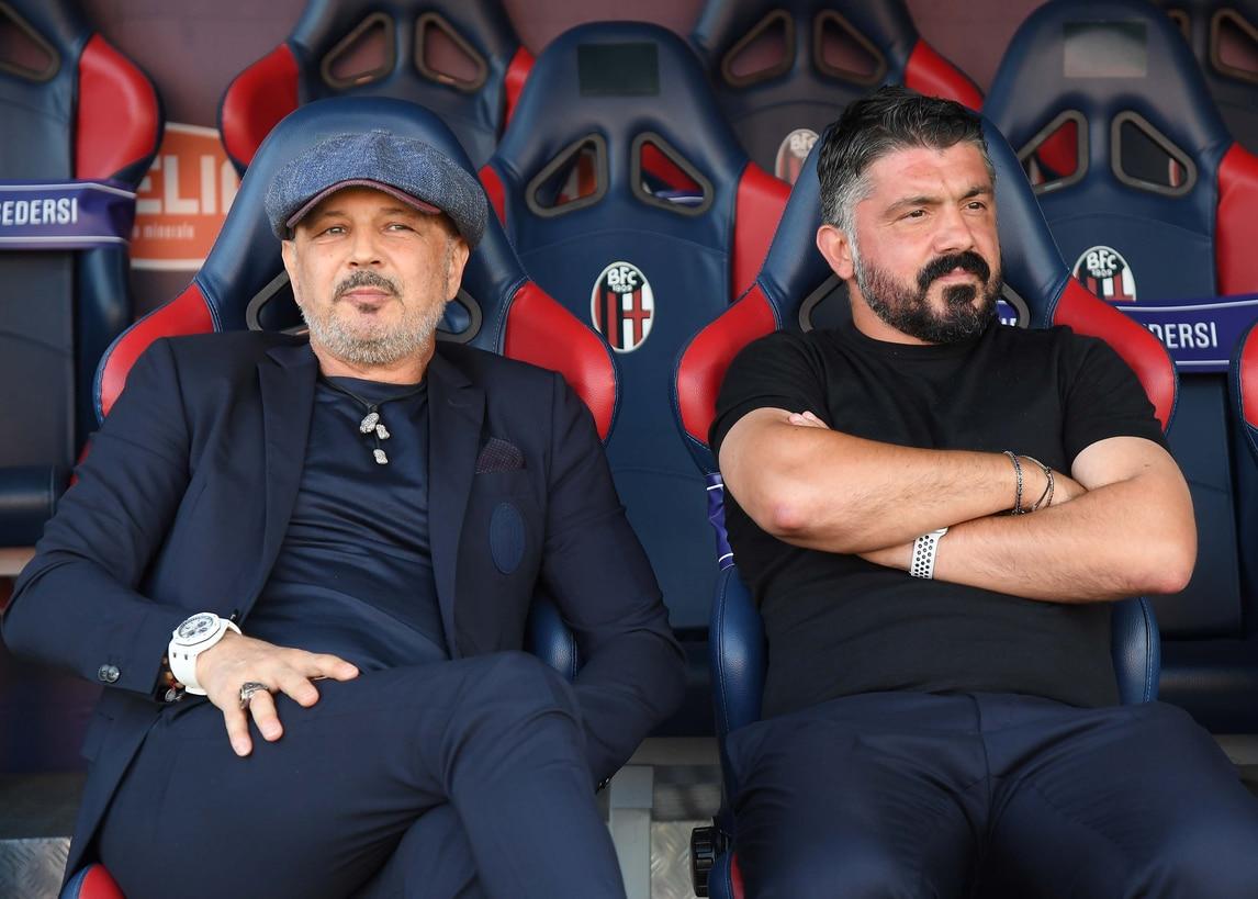 Bologna-Napoli 1-1: Mihajlovic e Gattuso amici in panchina, poi è battaglia