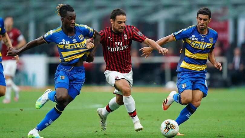 Milan-Parma 3-1, il tabellino