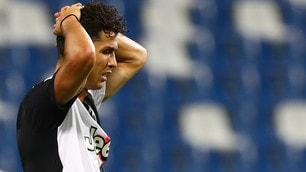 Pazza Juve! Il Sassuolo rimonta, Alex Sandro firma il pareggio: termina 3-3