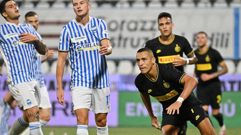 Spal-Inter 0-4, il tabellino