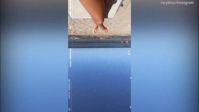 Ilary Blasi, che fisico mozzafiato al mare!