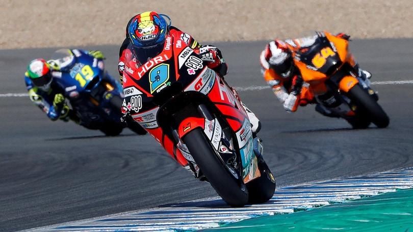 Moto2, Gp Spagna: Martin in pole, Marini in seconda fila