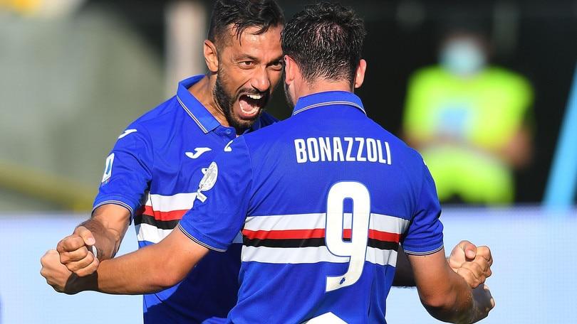 Parma-Sampdoria 2-3: Chabot, Quagliarella e Bonazzoli firmano la rimonta