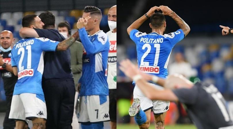 Politano rilancia il Napoli al 95': che abbraccio con Gattuso!