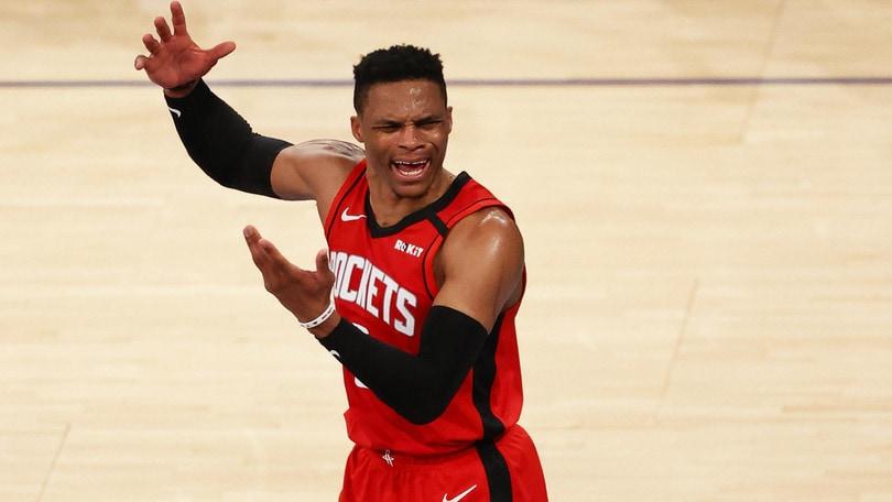 Westbrook è guarito dal Coronavirus e raggiunge i Rockets ad Orlando