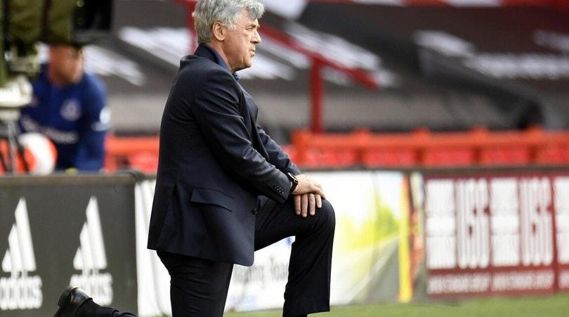 Ancelotti torna al successo e frena lo Sheffield, i Wolves sorpassano Mourinho