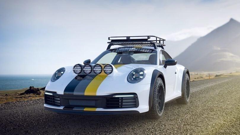 Porsche 911 Carrera 4S Dakar, delta 4x4 rievoca gli anni '80