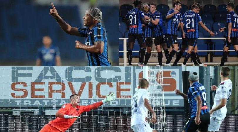 All'Atalanta basta Muriel. Battuto il Bologna 1-0