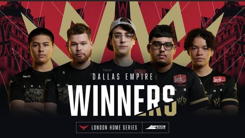 CDL: altra vittoria per i Dallas Empire, Atlanta FaZe ancora in testa