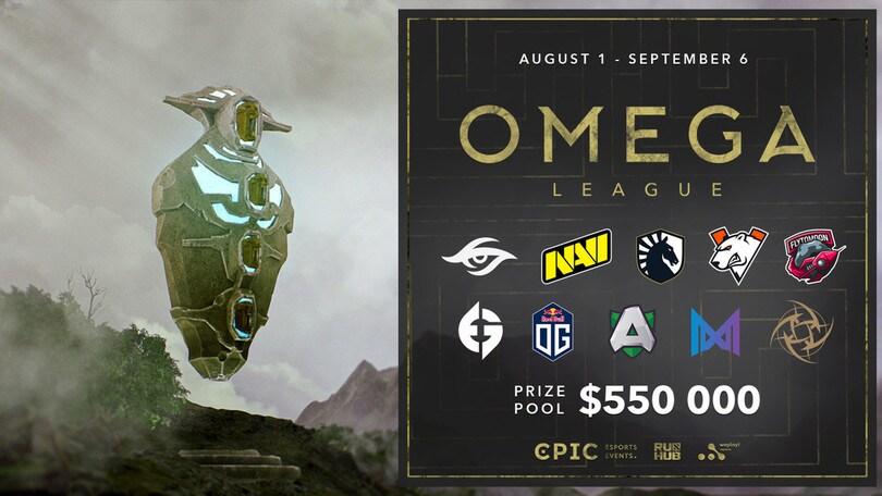 Dota 2, annunciata l'Omega League