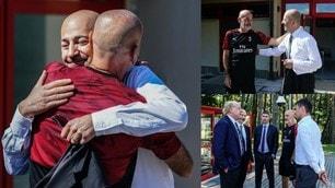 Pioli convince il Milan: che abbraccio con Gazidis!