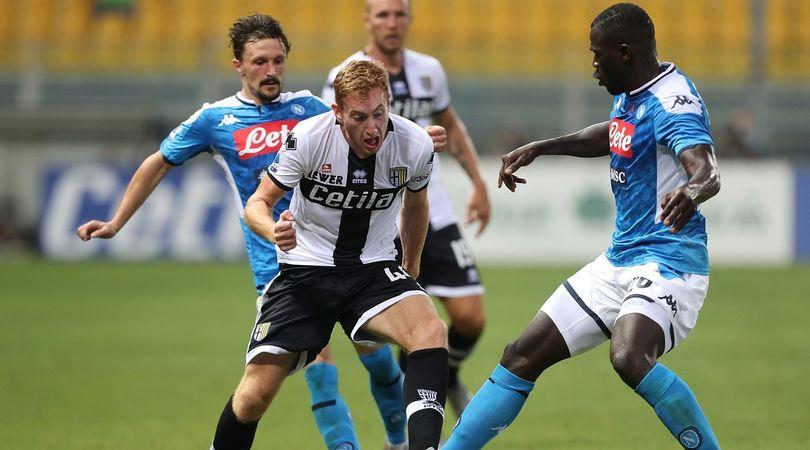 Parma-Napoli 2-1, il tabellino