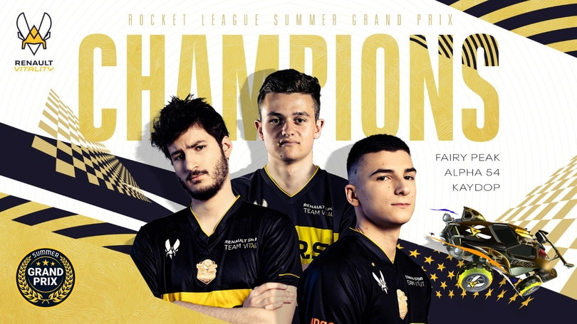 Summer Grand Prix: Renault Vitality campioni