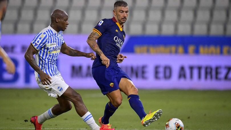 Spal-Roma 1-6, il tabellino