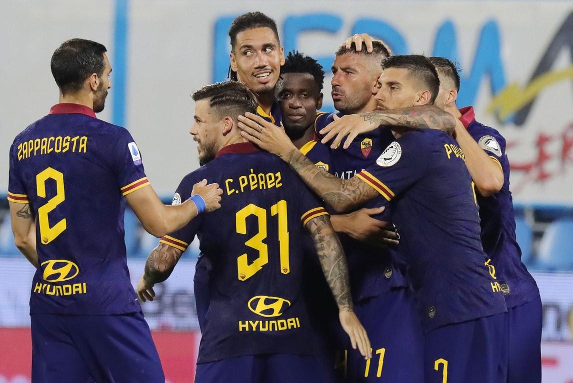 Spal-Roma 1-6: Bruno Peres e Zaniolo fanno volare Fonseca ...