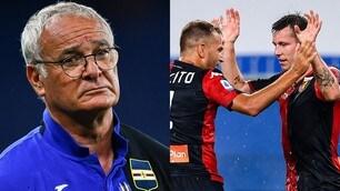 Ranieri, derby amaro: il Genoa fa festa con Criscito e Lerager