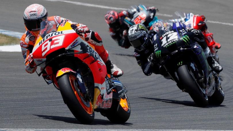MotoGp, Marquez d'acciaio: domenica in gara a Jerez