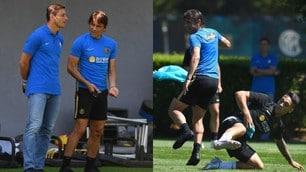 Inter, Conte a rapporto da Zanetti. Poi gioca la partitella