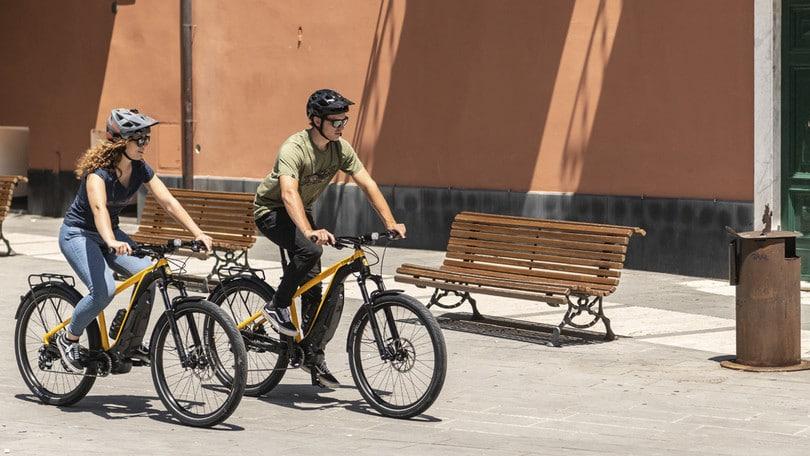 Ecco E-Scrambler, la bici elettrica di Ducati