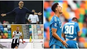 Crollo Juve, festa scudetto rimandata: l'Udinese vince 2-1