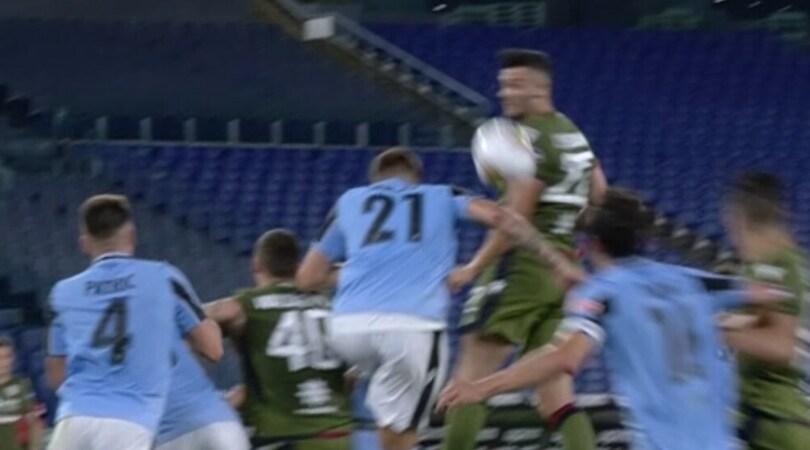 Moviola Lazio, Zenga ha ragione: il tocco di Milinkovic era da rigore