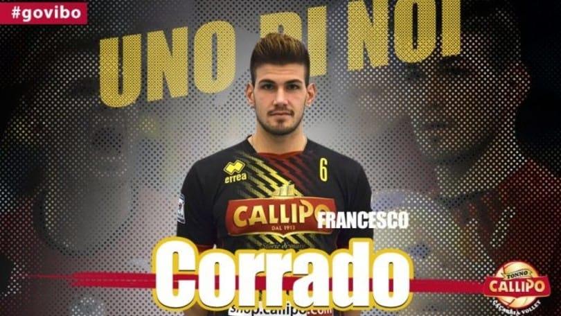 Corrado torna a giocare a Vibo Valentia