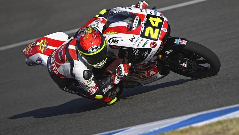 Gp Andalusia: Suzuki di nuovo in pole in Moto3, Arbolino 5°