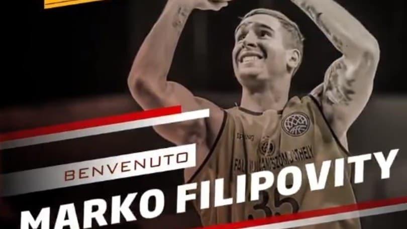Basket, Pesaro: ingaggiato Marko Filipovity