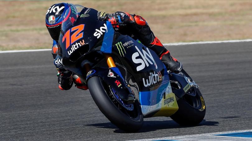 Gp Andalusia: Bezzecchi trova la pole in Moto2, Marini quinto