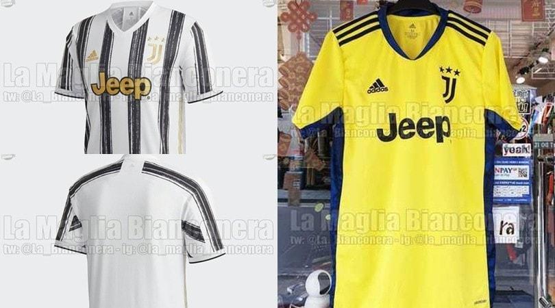 Juve, svelati altri dettagli sulla nuova maglia: c'è anche quella da portiere