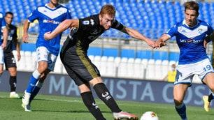 Kulusevski: che gioiello! Il Parma supera 2-1 il Brescia