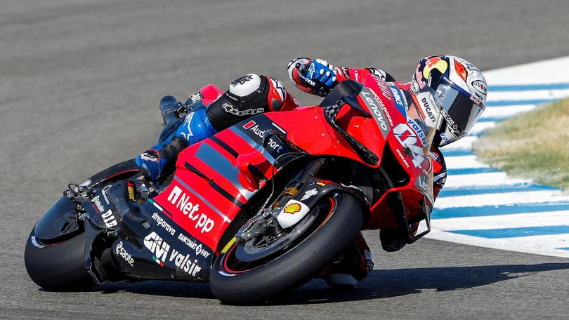 "Gp Andalusia, Dovizioso: ""Do la sufficienza a me e alla Ducati"""