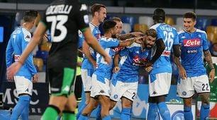 Hysaj e Allan per la festa del Napoli: Sassuolo ko e con quattro gol annullati!