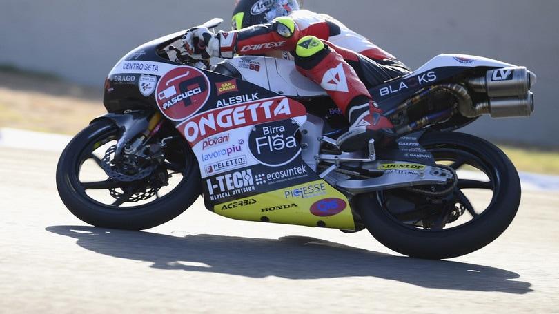 Gp Andalusia: Suzuki trionfa in Moto3 con Vietti 3°, caduta per Arenas