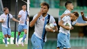 Immobile tris e ora vola! La Lazio schianta il Verona 5-1