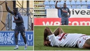 Okaka stende il Cagliari: l'Udinese vince 1-0
