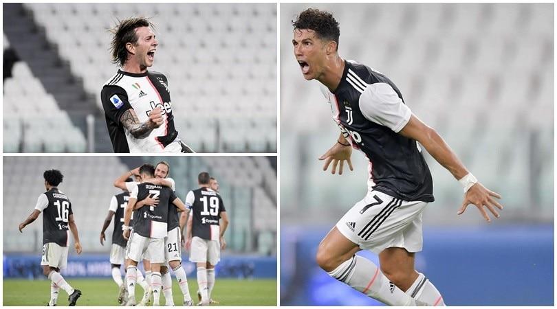 Juve campione d'Italia! Cristiano Ronaldo e Bernardeschi firmano il nono titolo consecutivo