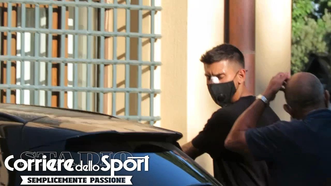 Roma, Pellegrini a Villa Stuart per l'operazione al setto nasale