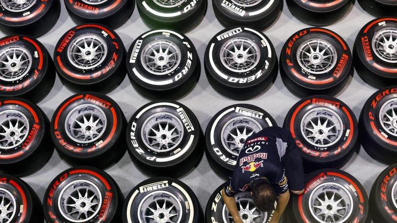F1, Pirelli: