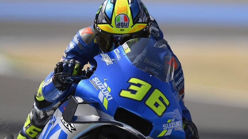 Gp Austria, Mir il più veloce nel warm up: Valentino Rossi dodicesimo