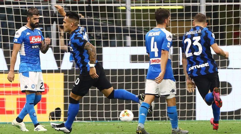 Inter Napoli 2 0 Conte Si Riprende Il Secondo Posto