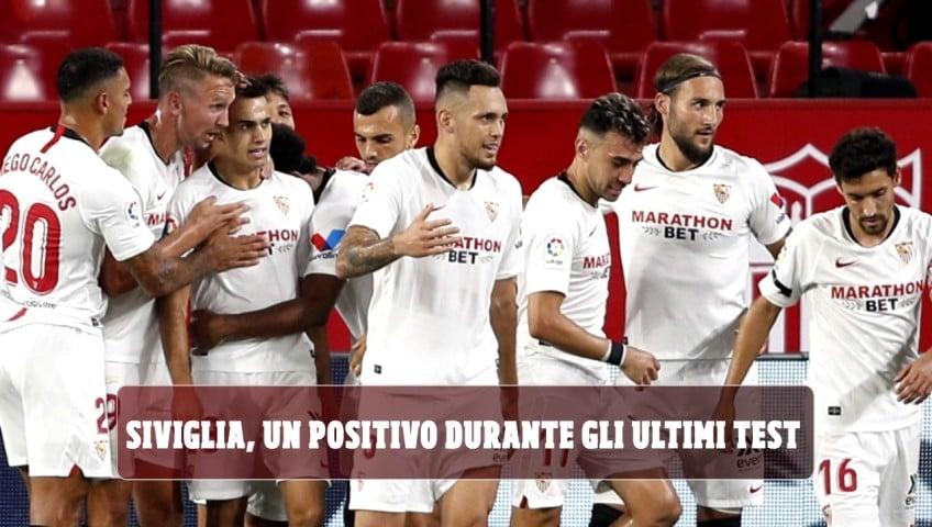 """Roma, il Siviglia annuncia: """"Un positivo durante gli ultimi test"""""""