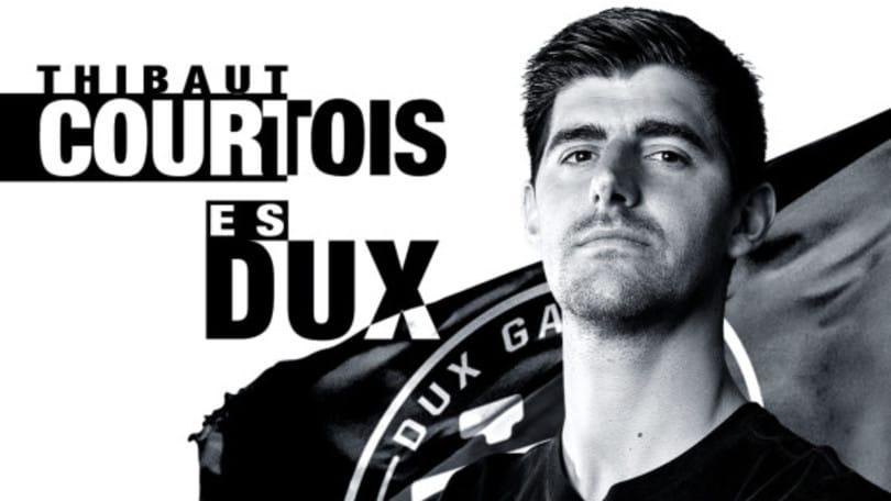 La DUX Gaming di Courtois acquista L'Inter de Madrid
