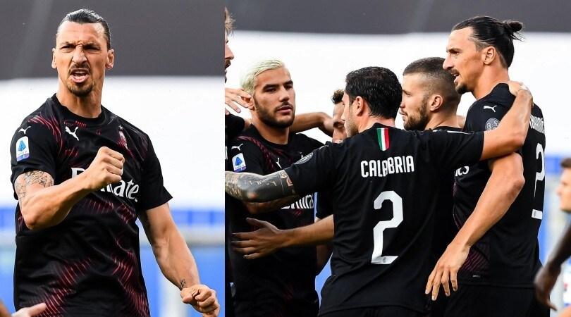 Super Ibrahimovic trascina il Milan con una doppietta