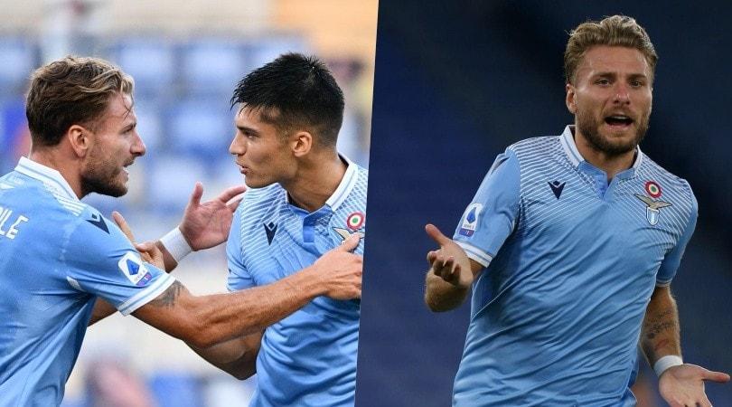 Immobile verso la storia: con Correa coppia gol perfetta, Brescia battuto