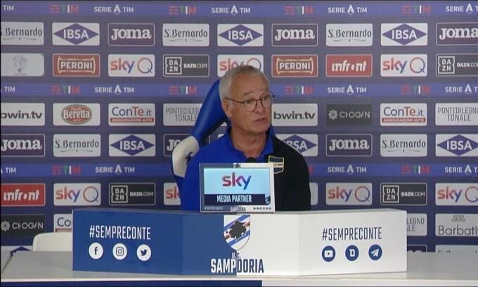 """Ranieri: """"Futuro? Ho un altro anno di contratto"""""""