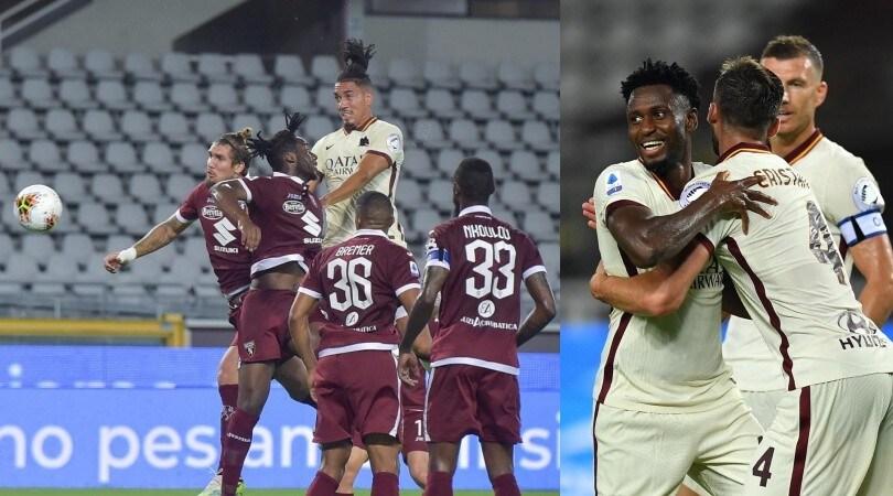 La Roma blinda il quinto posto con Dzeko, Smalling e Diawara
