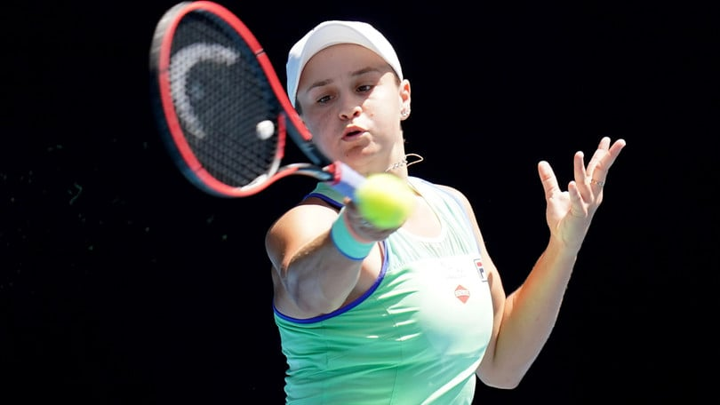 Us Open, Barty rinuncia: