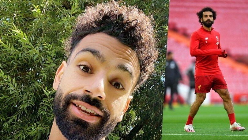 Salah mostra il nuovo look su Instagram e i tifosi si scatenano